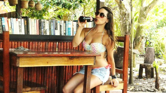 Cafe Rico: Enjoying a Coke Cola