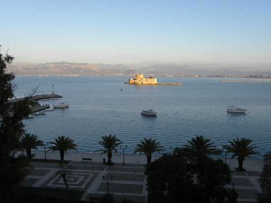 Amphitryon Hotel : A view worth waking up to.