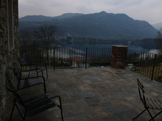 Le Maddalene Bed and Breakfast: from the terrace