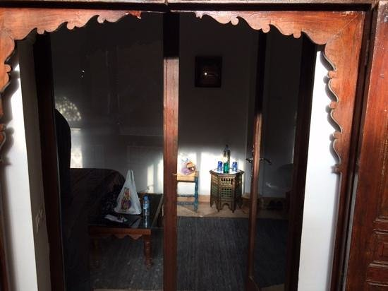 Riad Rafaele: Entrance to Pastels room