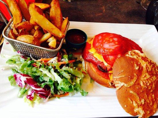 La Diligence : Burger mexicain au chorizo