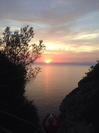 Sun Club El Dorado: Cliff view