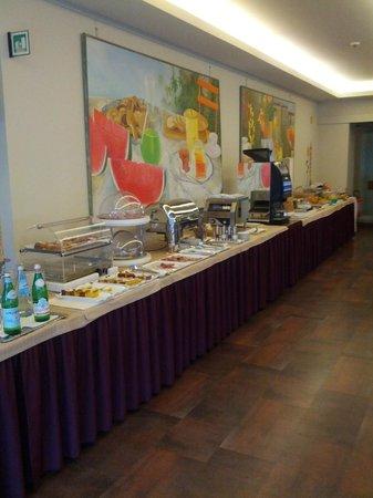 Best Western Hotel Continental: Buffet colazione