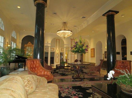 Bourbon Orleans Hotel : Hotel lobby