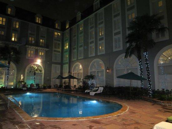 Bourbon Orleans Hotel : Pool area
