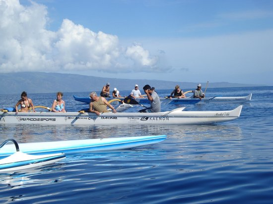 Maui Paddle Sports: Row row row your boat