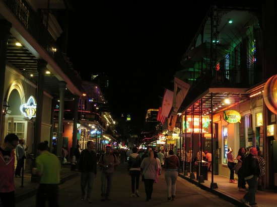Bourbon Orleans Hotel: View of Bourbon O from Bourbon St