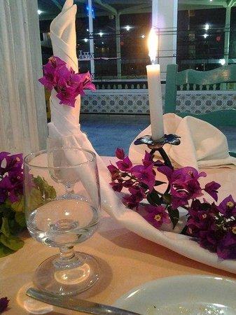 Houda Golf and Beach Club: restaurant