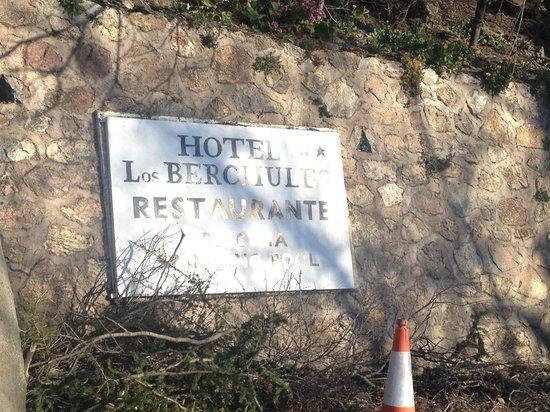 Hotel los Berchules: entrada des de treveles