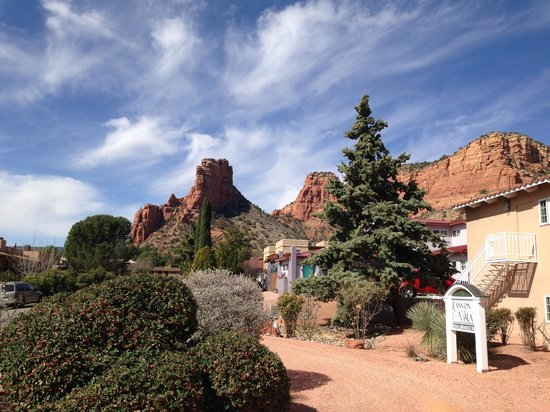 Canyon Villa Bed and Breakfast Inn of Sedona : BEAUTIFUL VIEW