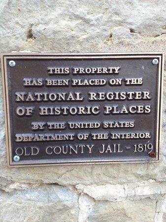 Jailer's Inn Bed and Breakfast: historic registry