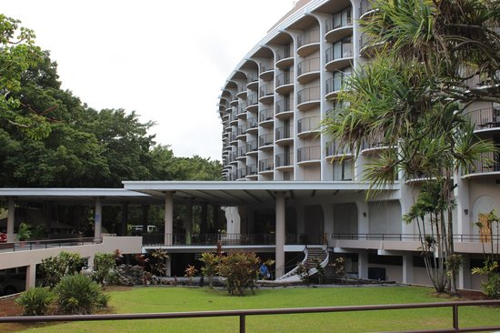 Castle Hilo Hawaiian Hotel: Accès à l'hôtel