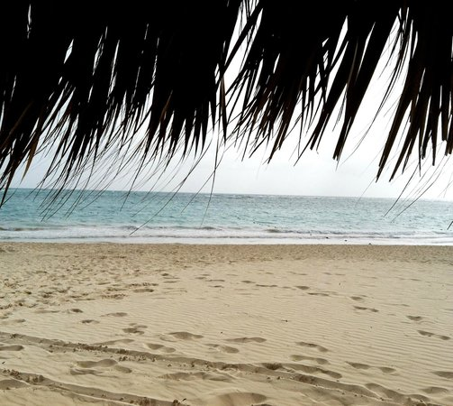 Iberostar Grand Hotel Bavaro : The beach at noon