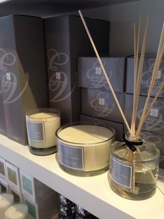 Food by Breda Murphy: Eve Victoria quality candles and diffusers at Bredas