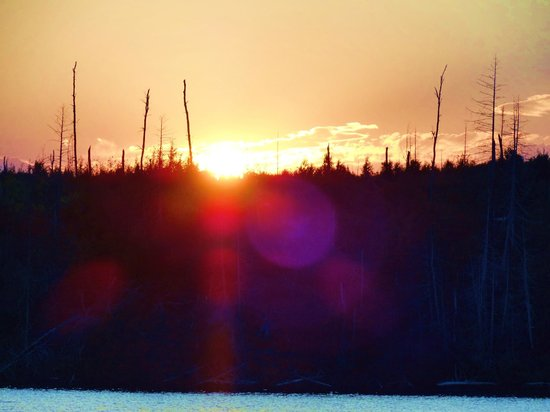 Gunflint Lodge & Outfitters : Beautiful Sunset