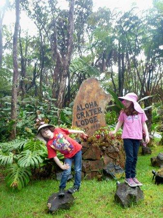 Aloha Crater lodge
