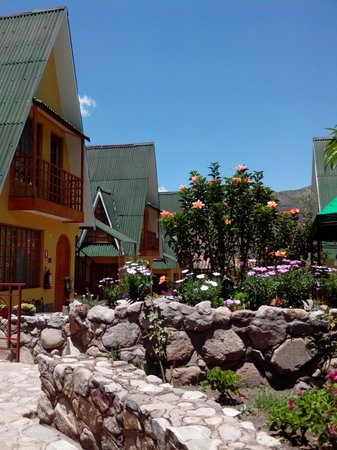 Amaru Valle Hotel: Linda vista