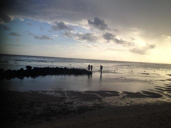 Outrigger Mauritius Beach Resort : le soir tout n'est que volupté et calme