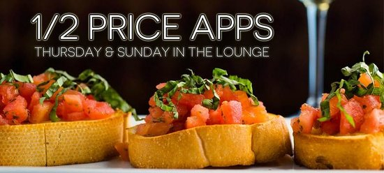 Sarento's Italian Restaurant : Half-Price Appetizers Thursday & Sunday