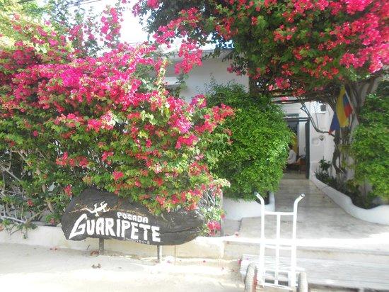 Posada Guaripete: Entrada