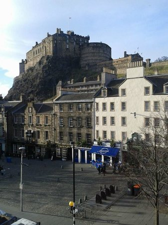 Apex Grassmarket Hotel: View from room 2029
