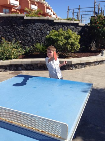 Be Live Family Costa los Gigantes: Table tennis