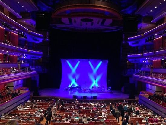 Symphony Hall: View from centre circle