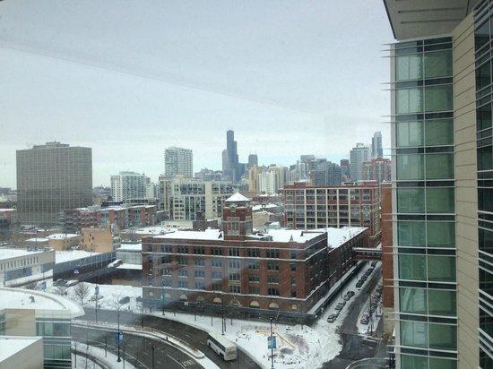 Hyatt Regency McCormick Place: South Tower view from 11th Floor 1 bd Suite