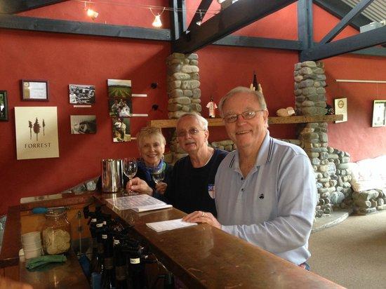 Explore Marlborough Wine Tours: Wine tasting on our bike tour