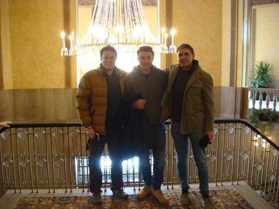Crowne Plaza Niagara Falls - Fallsview : Gianluca-Riccardo-Simone
