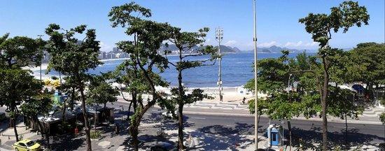 Sofitel Rio de Janeiro Copacabana : Vista dall'hotel...