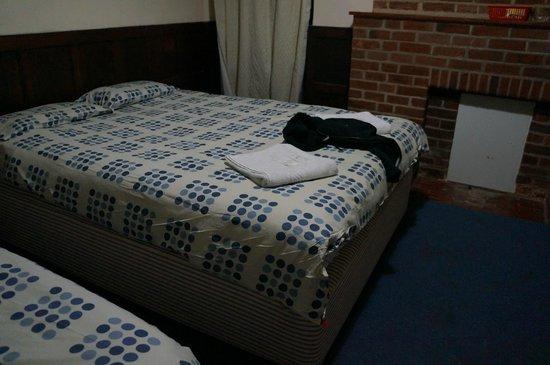 Heathrow Lodge : Queen size bed