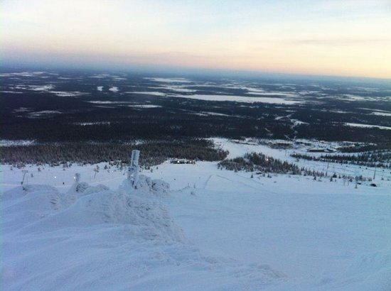Lapland Hotel Saaga: View from the top
