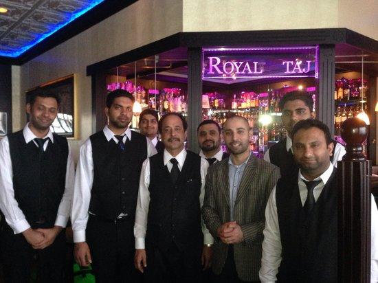 Royal Taj : Great welcoming owner and staff