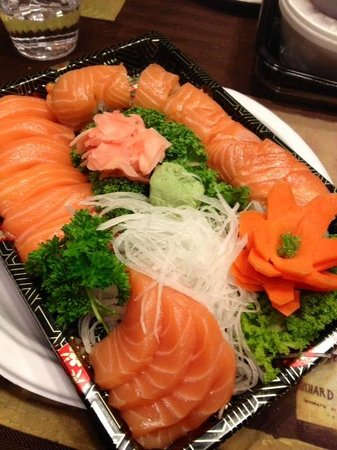 Little Tokyo: Take out Version of the Salmon Lover Plate!