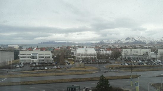 Hilton Reykjavik Nordica : View from the fifth floor
