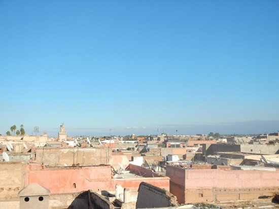 Riad Dar One: View from the Sirocco Roof Terrace