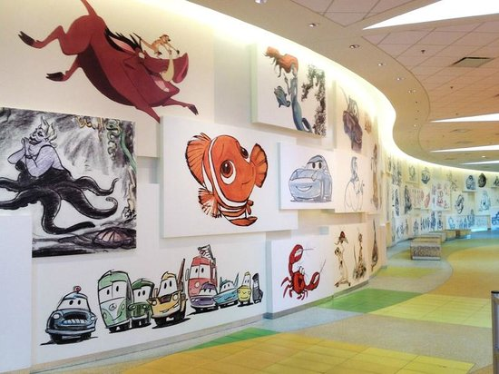 Front Lobby And Reception Area Animation Wall Picture Of