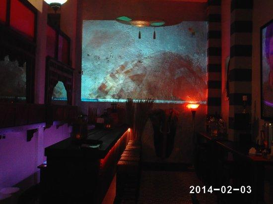 CasaBlanca Hotel: The Bar with the movie Casablanca
