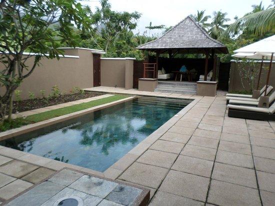 Constance Ephelia : Very private pool in family villa