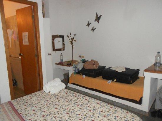 Posada Guaripete: Habitación
