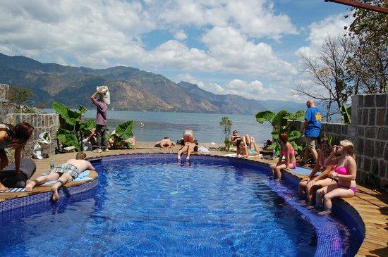 San Pedro La Laguna, Guatemala: Pool bar