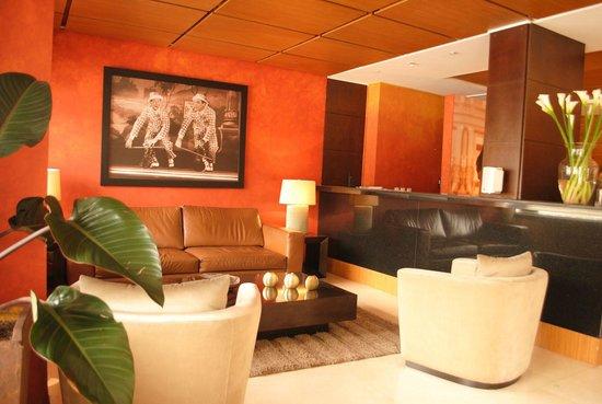 Hotel Charlotte: recepción muy comoda