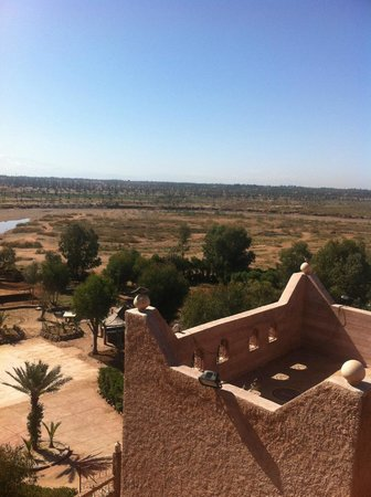 Kasbah Le Mirage: View from roof terrace