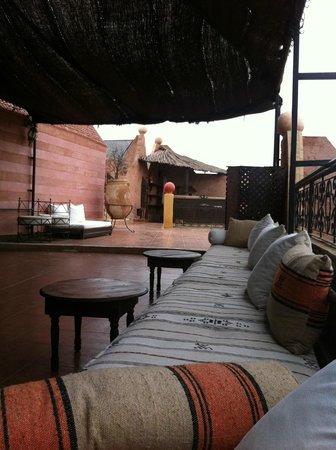 Kasbah Le Mirage: Roof terrace