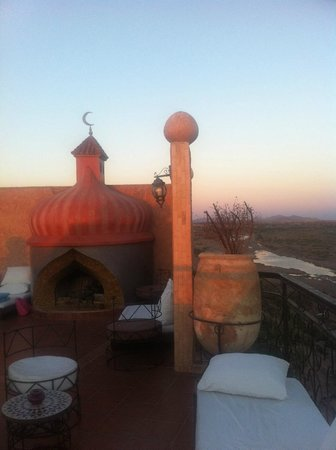 Kasbah Le Mirage: Roof terrace