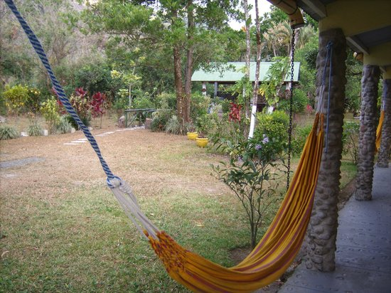 Cabanas Potosi: view from hammock