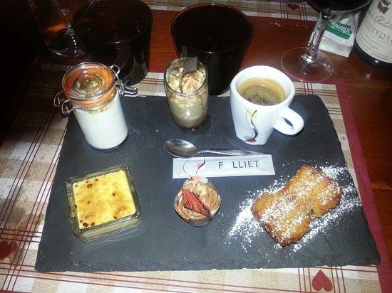 La Cabane : Café gourmand