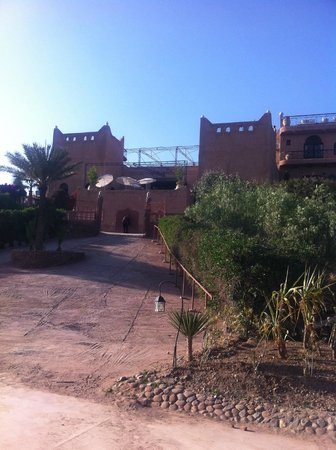 Kasbah Le Mirage: Front of hotel