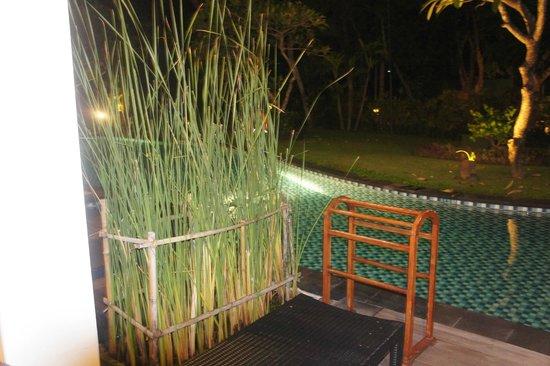 Melia Bali : Outside our room